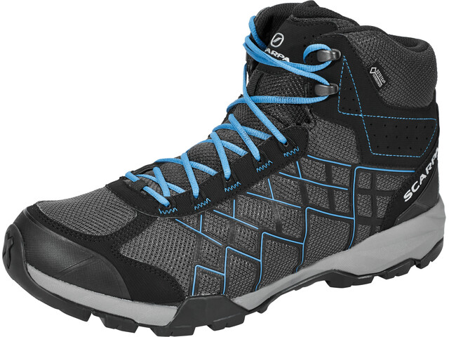 Scarpa Hydrogen Hike GTX Schoenen Heren, dark gray/lake blue
